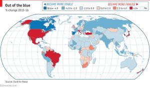 EmergingMarketSkeptic.com - Fragile States Index Percent Change 2015-2016